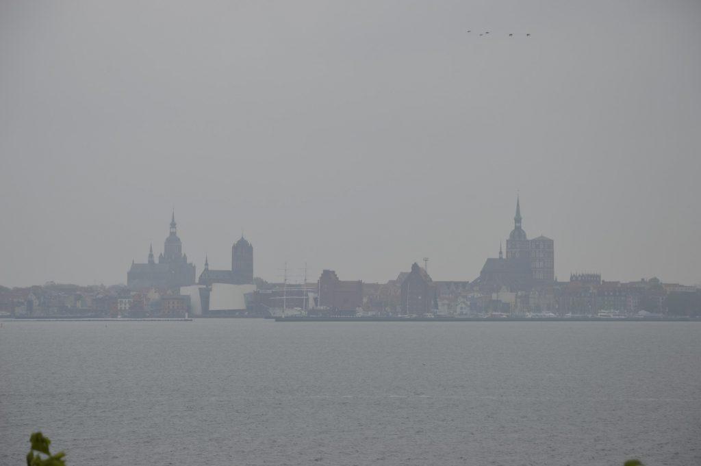 Altefähr: Blick nach Stralsund