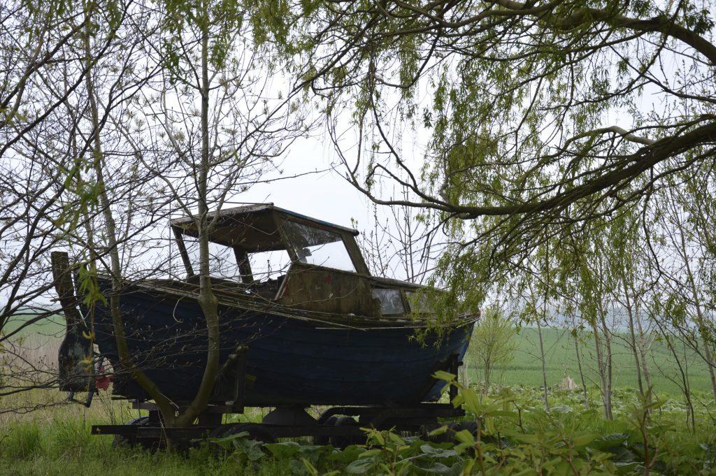 Bootswrack in Rothenkirchen